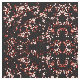 Abstract Polka Dot Fabric