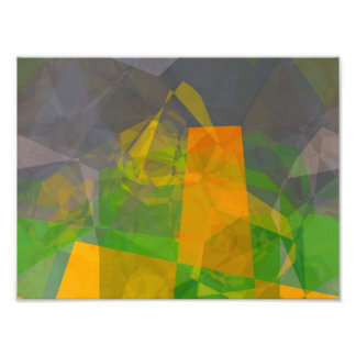 Abstract Polygons 115 Art Photo