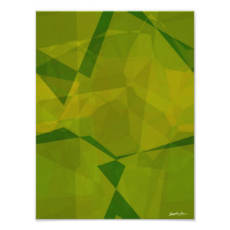 Abstract Polygons 131 Photographic Print