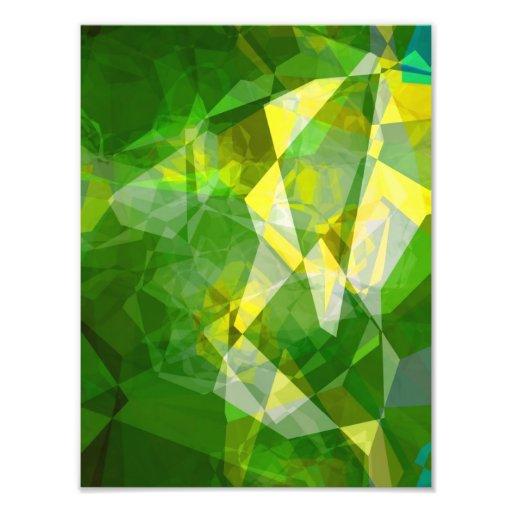 Abstract Polygons 135 Photo Print