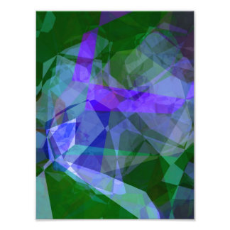 Abstract Polygons 14 Photo Print