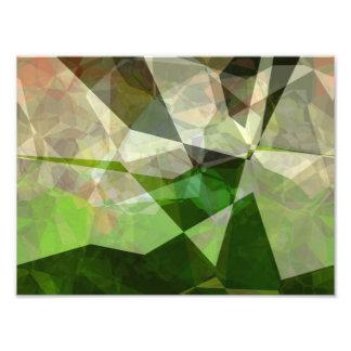 Abstract Polygons 163 Photo Print