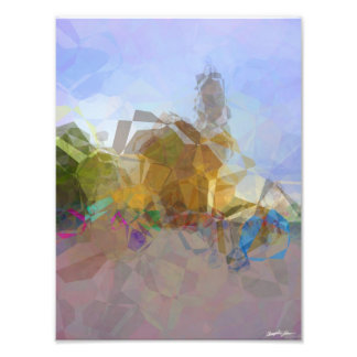 Abstract Polygons 16 Art Photo