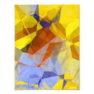 Abstract Polygons 179 Photo Print