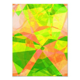Abstract Polygons 192 Art Photo