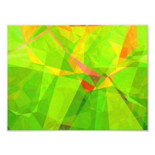 Abstract Polygons 196 Photo Print
