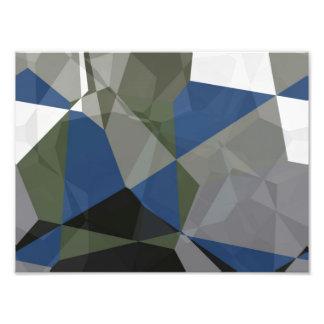 Abstract Polygons 211 Photo Print