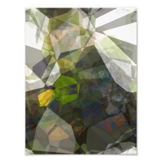 Abstract Polygons 216 Photo Print