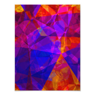 Abstract Polygons 237 Photographic Print