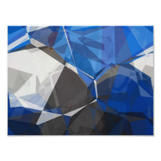 Abstract Polygons 251 Photo Print