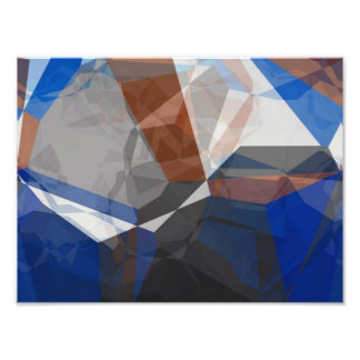 Abstract Polygons 255 Photo Print