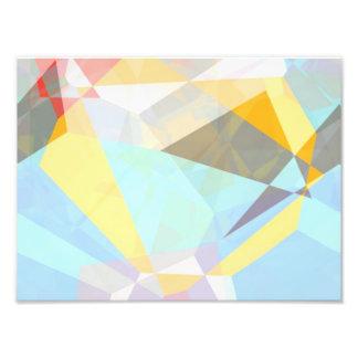 Abstract Polygons 29 Photo Print