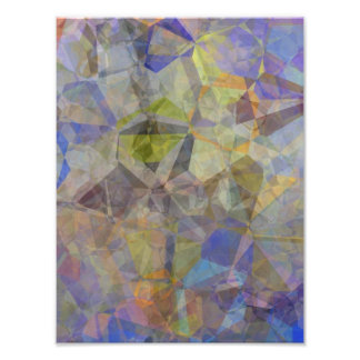 Abstract Polygons 33 Photographic Print