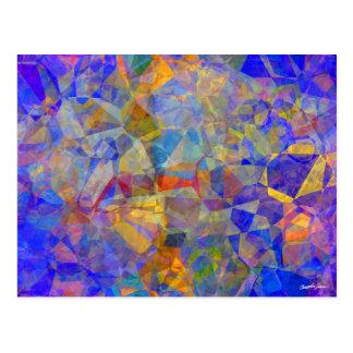 Abstract Polygons 36 Postcard