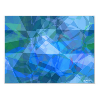 Abstract Polygons 51 Photographic Print