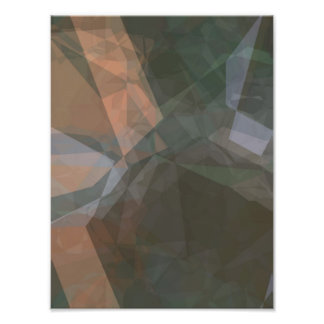 Abstract Polygons 6 and 9 Photographic Print