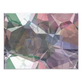 Abstract Polygons 91 Photographic Print