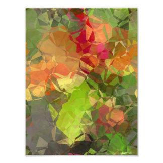 Abstract Polygons 96 Photo Print