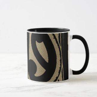 Abstract Polynesian Mug