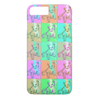 Abstract Pop Art Kitty Kitten Cute Cat Phone Case