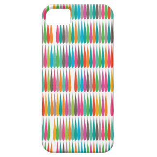 Abstract Pop art multicolor drops iPhone 5 Covers