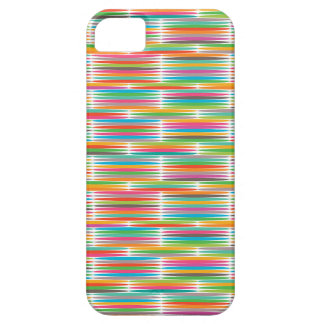 Abstract Pop art multicolor rainbow mosaic iPhone 5/5S Covers