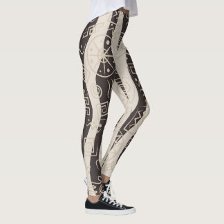 Abstract Pop Fashion Leggings