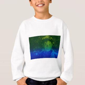 Abstract Portrait of a boy Sweatshirt