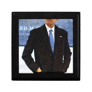 Abstract Portrait of President Barack Obama 10 Gift Box