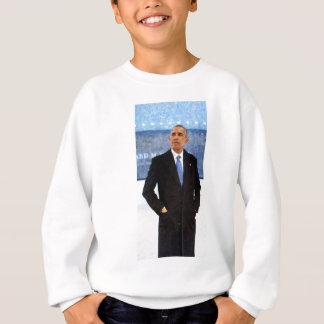 Abstract Portrait of President Barack Obama 10 Sweatshirt