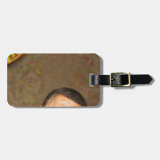 Abstract Portrait of President Barack Obama 11 Luggage Tag