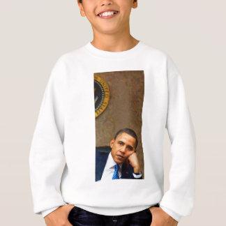 Abstract Portrait of President Barack Obama 11 Sweatshirt