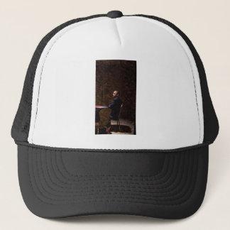 Abstract Portrait of President Barack Obama 13 Trucker Hat