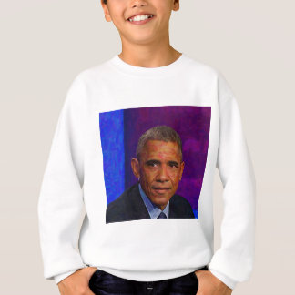 Abstract Portrait of President Barack Obama 7 Sweatshirt
