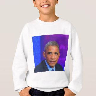 Abstract Portrait of President Barack Obama 8 a.jp Sweatshirt