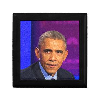 Abstract Portrait of President Barack Obama 8 Gift Box