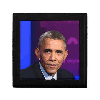 Abstract Portrait of President Barack Obama 9 Gift Box