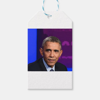 Abstract Portrait of President Barack Obama 9 Gift Tags