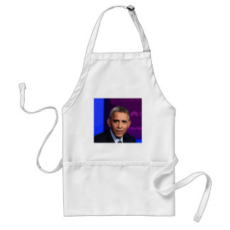 Abstract Portrait of President Barack Obama 9 Standard Apron