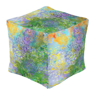 Abstract Pouf