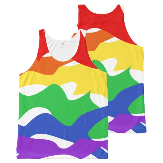 Abstract Pride Tank Top