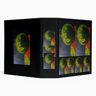 Abstract Primary Colors Vinyl Binder