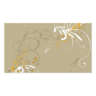 Abstract Profile Card Double-Sided Standard Business Cards (Pack Of 100)