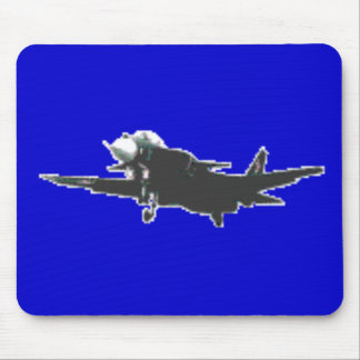 ABSTRACT PROP PLANE DESIGN MOUSE PAD
