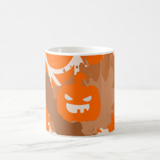 Abstract Pumpkin Mug