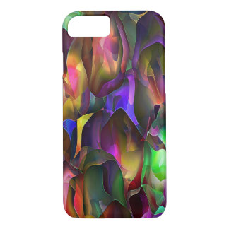 Abstract Purple and Floral by Trevor Star Case-Mate iPhone Case