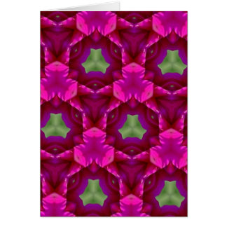 Abstract Purple And Green Products Card