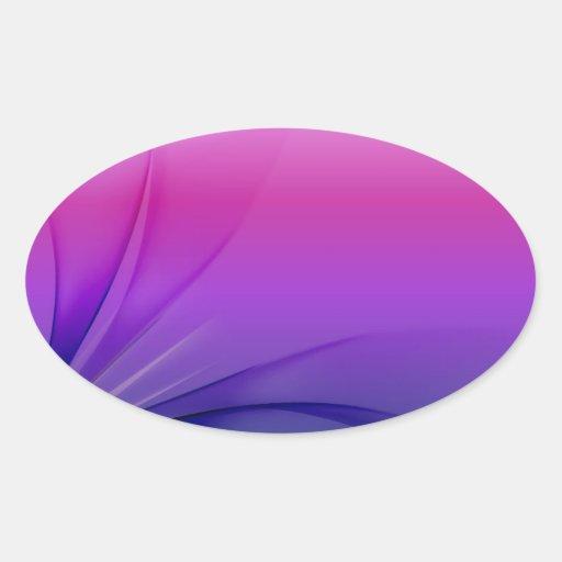 Abstract Purple Blue Background Vector Graphic  DI Sticker