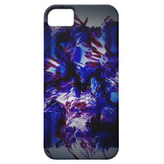 abstract purple crazy bar barcode scanner weird am iPhone 5 cover