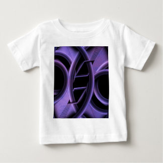 Abstract purple created by Tutti Baby T-Shirt